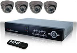 4 Camera CCTV Installation Chesterfield